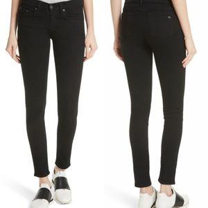 Rag & Bone Black The Skinny Stretch Jeans